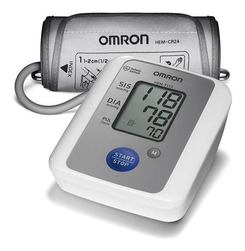Medidor de pressão arterial digital de braçoOmron HEM-7113