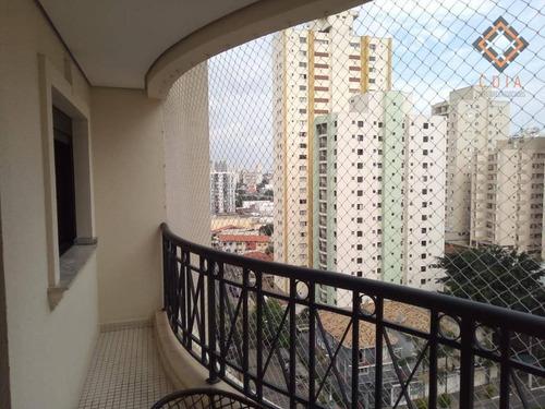 Apartamento Com 4 Dormitórios À Venda, 118 M² - Saúde - São Paulo/sp - Ap53641