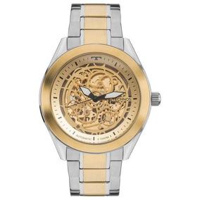 Relógio Technos Masculino Automático Prata 8n24aj/4x