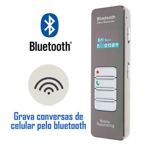Gravador Espiao Ativação Por Voz Escuta Telefone Para Bd1