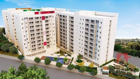 Apartamento Com 1 Dormitório À Venda, 48 M² Por R$ 380.000,00 - Taboão - Bragança Paulista/sp - Ap0909