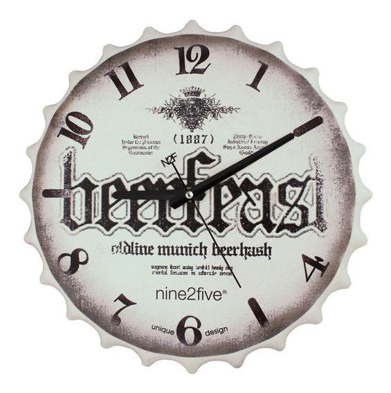 Reloj De Pared Nine2five, Pbar01gr Mov Silencioso Watch It