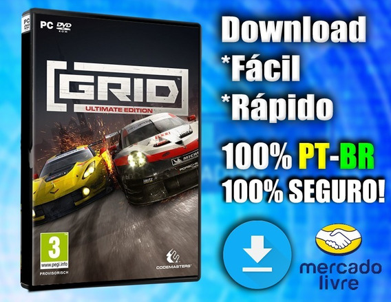 Grid 2019 - Pc - Completo 100% Pt-br! Midia Digital!