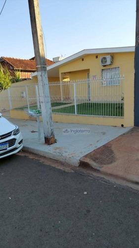Imagem 1 de 17 de Casa À Venda, 165 M² Por R$ 470.000,00 - Vila Casoni - Londrina/pr - Ca2242