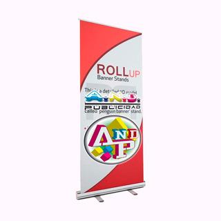 Roll Up Económico 80 X 200cm Durable Entrega Rápida Rótulos