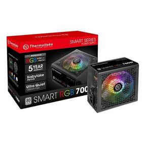 Fonte Atx 700w Thermaltake Smart Rgb 80 Plus Pfc Ativo Nfe