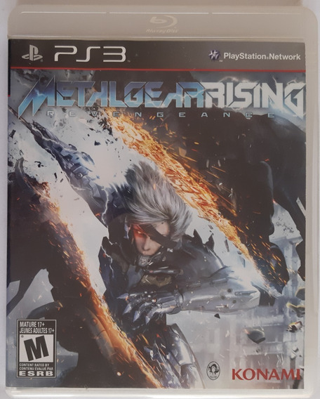 Metal Gear Rising Ps3 Mídia Física