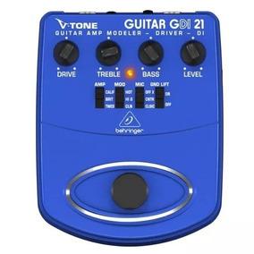 Pedal De Guitarra Simulador Amplificador Behringer Gdi21