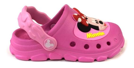 Sandalias Disney Originales Para Niñas - A6386 - Fucsia