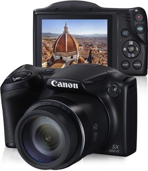 Câmera Canon Powershot Sx400is 16mp Lcd 3.0 Zoom Óptico 30x