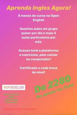 Aulas De Ingles Open English