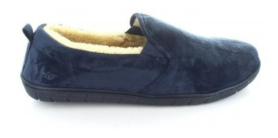Pantufla Para Hombre Dockers Dkimp0034-045549 Color Marino