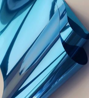 Papel Polarizado Tipo Espejo Decorativo Por Metros