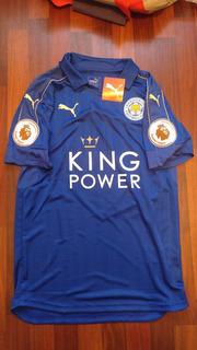 Jersey Puma Leicester City 2016-17 Local Campeon Original