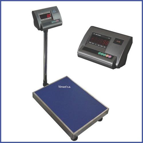 Imagen 1 de 2 de Balanza Industrial De Plataforma Digital Báscula 600 Kg