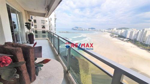 Imagem 1 de 30 de Apartamento Com 3 Dormitórios À Venda, 120 M² Por R$ 1.050.000,00 - Praia Das Pitangueiras - Guarujá/sp - Ap3361