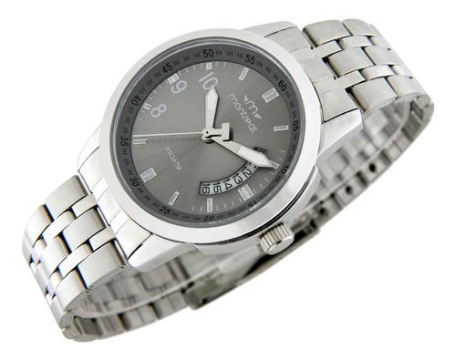 Reloj Montreal Hombre Ml277 Malla De Acero Envío Gratis