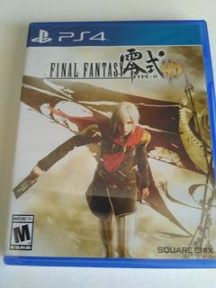 Final Fantasy Type-0 Nuevo Hd Fisico Sellado Envio Gratis