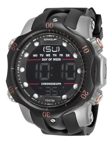 Relógio Masculino A Prova D'água 100 Metros Speedo Original