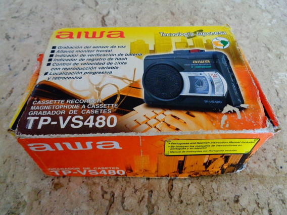 Walkman Gravador Aiwa Tp-vs480 Novo Na Caixa Nunca Usado