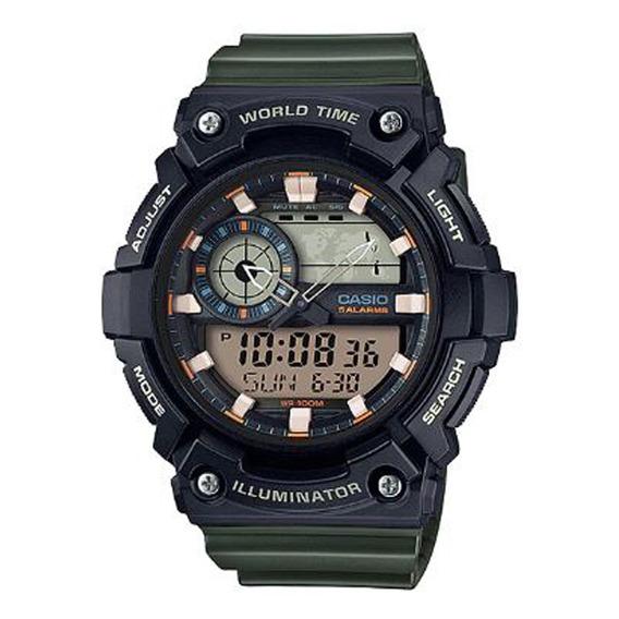 Relógio Casio Masculino Standard Aeq-200w-3avdf