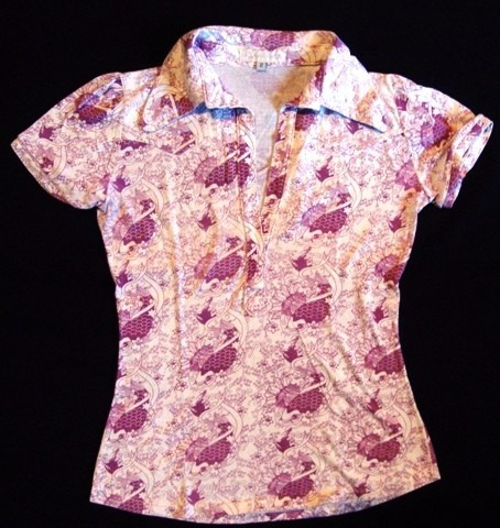 Camisa Dama Allo Martinez, Talle 2, Impecable
