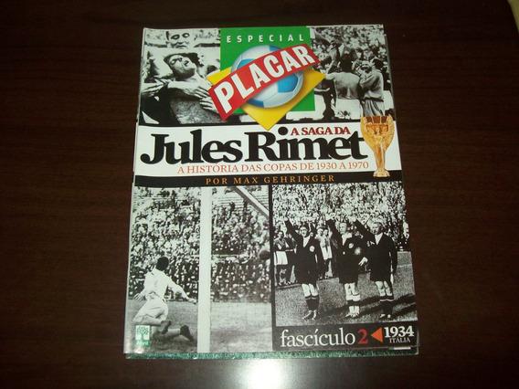 Revista Placar - Coleção Jules Rimet - Copa 1934