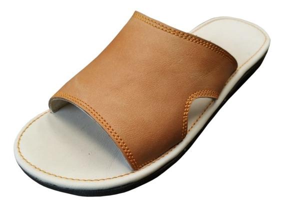Sandalias De Piel, Suaves Para Descanso, Confortables, M5cc