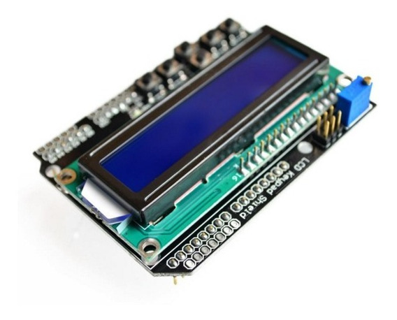 Lcd Keypad Shield Com Botões Lcd 16x2 Para Arduino