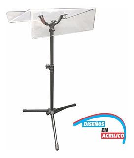 Podium,atril,pulpito De Acrílico De 6mm Con Altura Ajustable