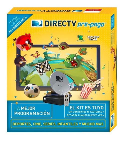 Kit Prepago Directv Antena 60 Cm