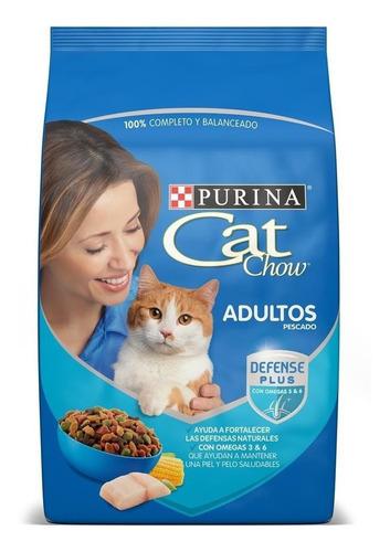 Imagen 1 de 1 de Alimento Cat Chow para gato adulto sabor pescado en bolsa de 15kg