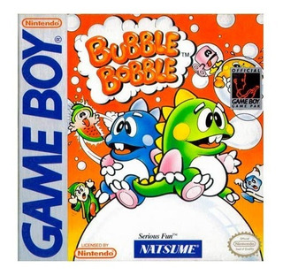 Bubble Bobble Original Game Boy Usado Garantia Vdgmrs