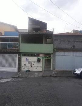 Imagem 1 de 5 de Sobrado Com 4 Dormitórios À Venda, 132 M² Por R$ 393.000 - Jardim Cristiane - Santo André/sp - So1825