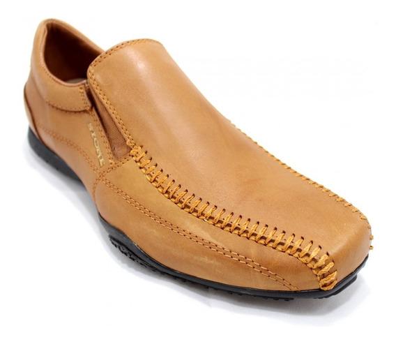 Zapato Stone De Cuero Con Eslásticos