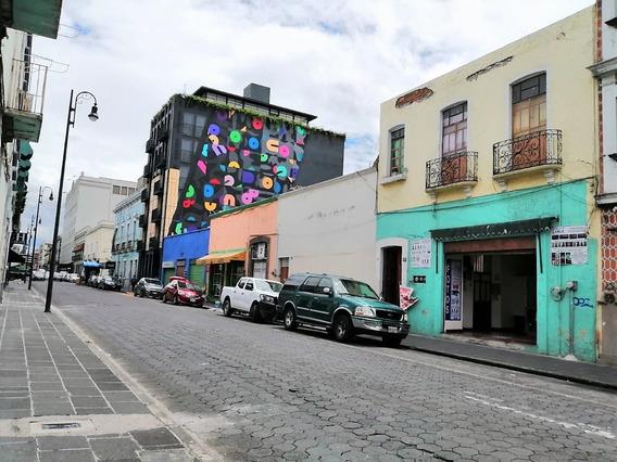 Venta De Casonoa En Centro Histórico De Puebla, Oportunidad De Inversión