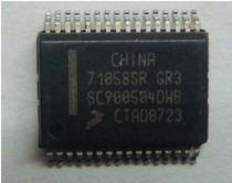 Microcontrolador 71058sr Gr3 Ecu Automotriz