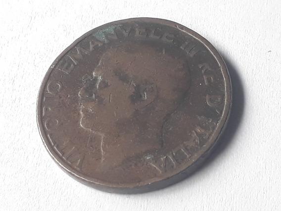 Moneda Italia 10 Centésimos, 1931 Cobre Km# 60 Lote 381