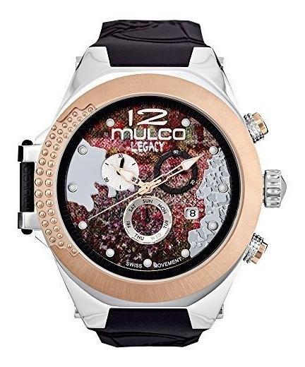 Mulco Legado Mw5-3700-023 Impresionismo Banda Negro Colecci