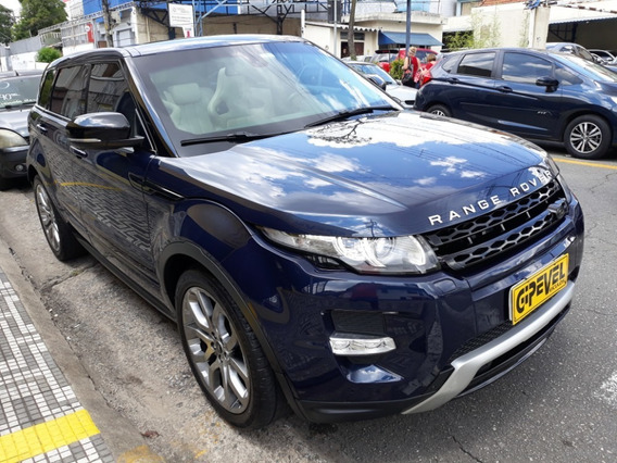 Land Rover Evoque Dinamic Tech 5 Pts 4wd Gipevel