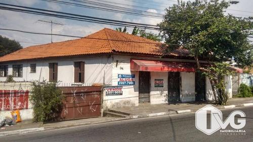 Terreno À Venda, 1900 M² Por R$ 5.000.000,00 - Vila Antonieta - Guarulhos/sp - Te0198