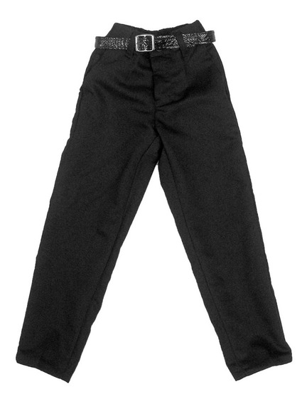 Pantalon Niño Hilton Marino Escolar Negro #2 - #18 Años