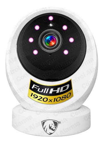 Imagen 1 de 10 de Camara Wifi Ip Full Hd Seguridad Deteccion Movimiento Audio Vision Nocturna Espia Grabacion Nube Alarma Casa
