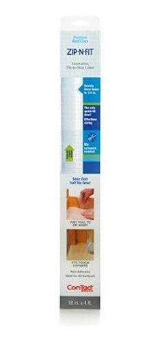 Contact Brand Zipnfit Premium Non Adhesive Perforated Shelf