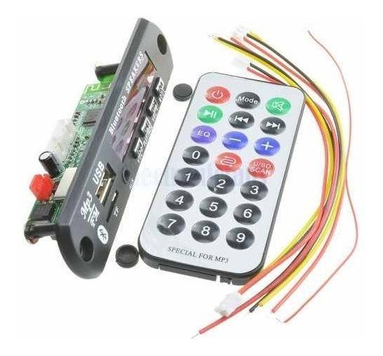 10 X Placa P/amplificador - Modulo Usb Caixa Mp3 Bluetooth
