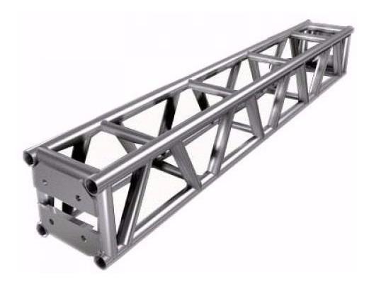 Treliças Box Truss Q25 Aço - Kit 42 Peças - Usado