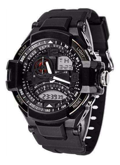 Relógios Masculino Militar Synoke Qualidade E Luxo Imported