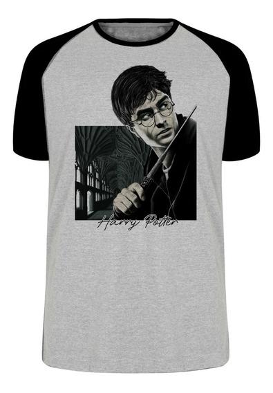 Camiseta Blusa Plus Size Harry Potter Bruxo Magico Filme