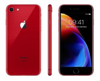 iPhone 8 64gb Vermelho Original Apple Vitrine Pronta Entrega