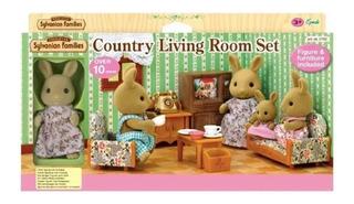 Sylvanian Family - Country Living Room Set - Original
